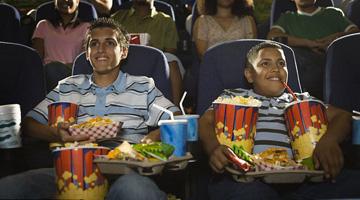 Proibição de Alimentos no Cinema